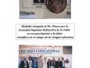 medalla al dr jairo e hoyos india