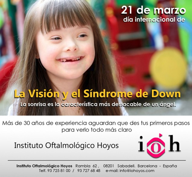 Hoy se celebra…  21 de Marzo Día Mundial del Síndrome de Down