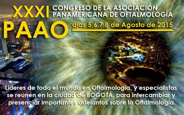 XXXI Congreso de la Asociación Panamericana de Oftalmología